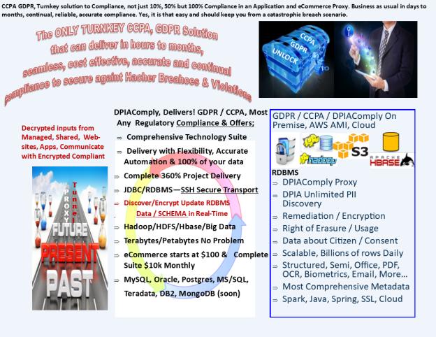 GDPR CCPA TurmKey Solution